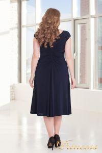 Вечернее платье 720 NAVY. Цвет синий. Вид 3