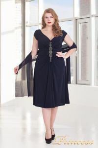 Вечернее платье 720 NAVY. Цвет синий. Вид 1