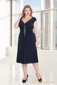 Вечернее платье 720 NAVY. Цвет синий. Вид 2