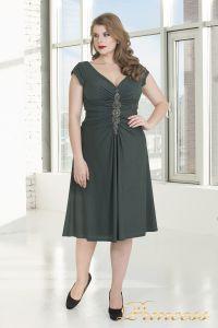 Вечернее платье 720 G. Цвет стальной. Вид 2