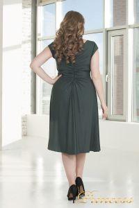 Вечернее платье 720 G. Цвет стальной. Вид 3