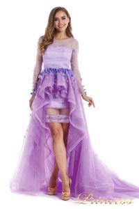 Вечернее платье 724456-F. Цвет цветочное. Вид 1