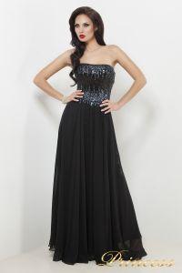 Вечернее платье 7983B. Цвет чёрный. Вид 2