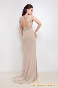 Вечернее платье 8033. Цвет пудра. Вид 3