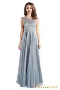 Вечернее платье 80824-171 gray. Цвет стальной. Вид 3