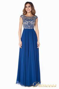 Вечернее платье  80824AN. Цвет синий. Вид 4
