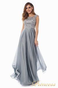 Вечернее платье 80824-171 gray. Цвет стальной. Вид 5