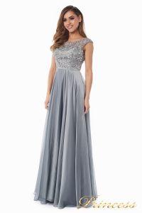 Вечернее платье 80824-171 gray. Цвет стальной. Вид 6
