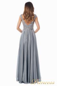 Вечернее платье 80824-171 gray. Цвет стальной. Вид 7