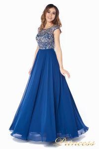 Вечернее платье  80824AN. Цвет синий. Вид 3
