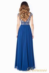 Вечернее платье  80824AN. Цвет синий. Вид 5