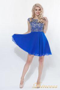 Вечернее платье 80824S - ROYAL. Цвет электрик . Вид 2