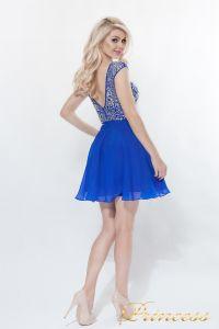 Вечернее платье 80824S - ROYAL. Цвет электрик . Вид 5
