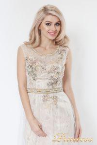 Вечернее платье 8085. Цвет пастельный. Вид 2