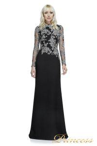 Вечернее платье Tadashi Shoji  ATH16206LXY SMKPL. Цвет чёрный. Вид 1
