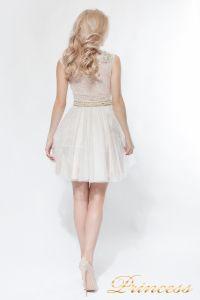 Платье на выпускной 8104. Цвет цветочное. Вид 4