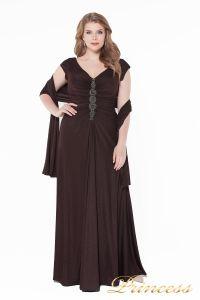 Вечернее платье 826 Coffe . Цвет коричневый. Вид 2