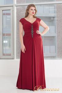 Вечернее платье 826 red. Цвет красный. Вид 1