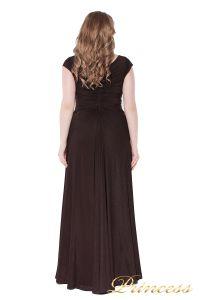 Вечернее платье 826 Coffe . Цвет коричневый. Вид 4