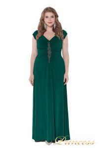 Вечернее платье 826 Green. Цвет зеленый. Вид 2