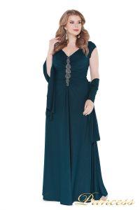 Вечернее платье 826 teal. Цвет зеленый. Вид 2