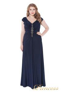 Вечернее платье 826 Mazarine. Цвет синий. Вид 2