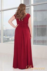 Вечернее платье 826 red. Цвет красный. Вид 2