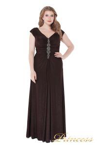 Вечернее платье 826 Coffe . Цвет коричневый. Вид 3