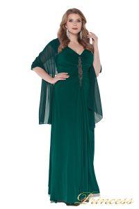 Вечернее платье 826 Green. Цвет зеленый. Вид 3