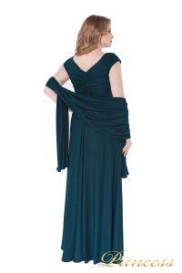 Вечернее платье 826 teal. Цвет зеленый. Вид 3