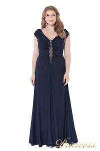 Вечернее платье 826 Mazarine. Цвет синий. Вид 3