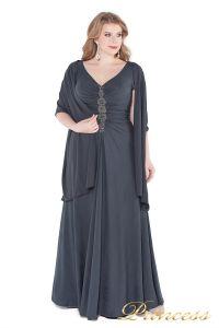 Вечернее платье 826 Gray. Цвет стальной. Вид 5