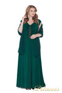 Вечернее платье 826 Green. Цвет зеленый. Вид 4