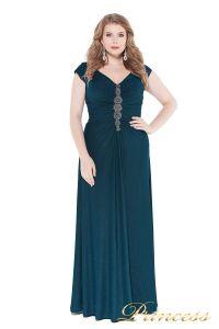 Вечернее платье 826 teal. Цвет зеленый. Вид 4