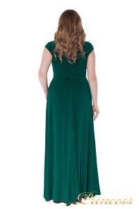Вечернее платье 826 Green. Цвет зеленый. Вид 5
