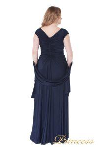 Вечернее платье 826 Mazarine. Цвет синий. Вид 5