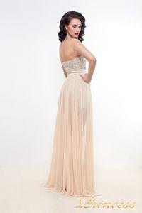Вечернее платье 8617N. Цвет кремовый. Вид 2