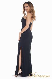 Вечернее платье 8678. Цвет чёрный. Вид 3