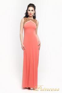 Вечернее платье 8822Y. Цвет оранжевый. Вид 2