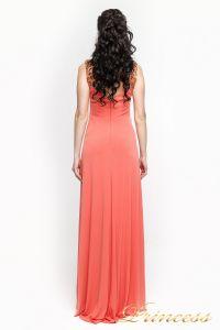 Вечернее платье 8822Y. Цвет оранжевый. Вид 4