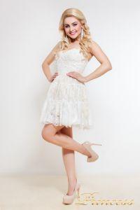 Коктейльное платье 90040. Цвет белый. Вид 1