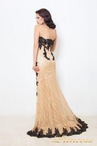 Вечернее платье 9008N. Цвет чёрный. Вид 3