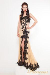 Вечернее платье 9008N. Цвет чёрный. Вид 1