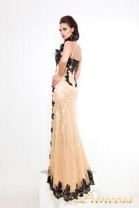 Вечернее платье 9008N. Цвет чёрный. Вид 2