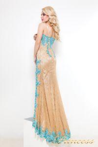 Вечернее платье 9008B. Цвет пастельный. Вид 3