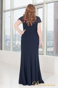 Вечерне платье 902 navy. Цвет синий. Вид 3