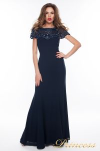 Вечернее платье 902_navi_small. Цвет синий. Вид 1