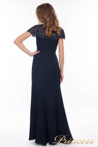 Вечернее платье 902_navi_small. Цвет синий. Вид 2