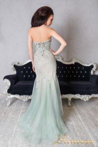 Вечернее платье 9059. Цвет мятный. Вид 2