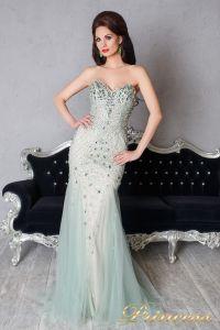 Вечернее платье 9059. Цвет мятный. Вид 1